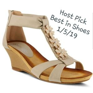 d23f3c4c41f5 💜HP2019💜Patrizia - SprngStep Poppy Wedge Sandals